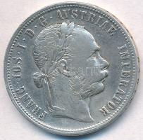 Ausztria 1877. 1Fl Ag Ferenc József T:2,2- Austria 1877. 1 Florin Ag Franz Joseph C:XF,VF Krause KM#2222