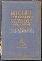 Michel Európa bélyeg katalógus 1942