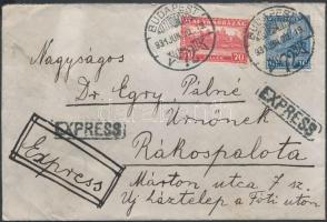 1931 Expressz levél Budapestről