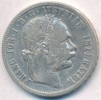 Ausztria 1883. 1Fl Ag Ferenc József T:2,2- Austria 1883. 1 Florin Ag Franz Joseph C:XF,VF Krause KM#2222