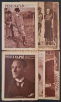cca 1928-30 12 db Pesti Hírlap újság