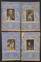 1936 Magyar Asszony folyóirat 4 db