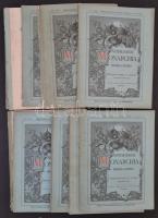 Az Osztrák-Magyar Monarchia írásban és képben 1-21. kötetek. Hiányzik 4 db. Mind jó állapotban
