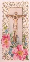 Hibátlan csipke litografált szentkép
