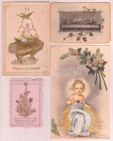 4 db szentföldi virágos szentkép