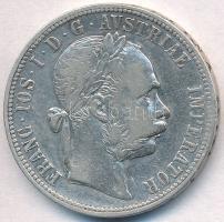 Ausztria 1887. 1Fl Ag Ferenc József T:2,2- Austria 1887. 1 Florin Ag Franz Joseph C:XF,VF Krause KM#2222