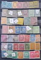 Törökország tétel 1910-1960 sok száz bélyeg másodpéldányokkal 6 lapos közepes berakóban