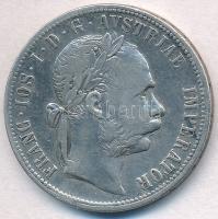 Ausztria 1888. 1Fl Ag Ferenc József T:2- Austria 1888. 1 Florin Ag Franz Joseph C:VF Krause KM#2222