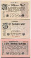 Németország / Weimar köztársaság 1923. 500.000M + 1923. 2.000.000M (2x) sorszámmal és sorszám nélkül + 1923. 5.000.000M + 1923. 20.000.000M (2x) hétjegyű sorszámmal + 1923. 50.000.000M (2x) hét- és nyolcjegyű sorszámmal T:II-III Germany / Weimar Republic 1923. 500.000 Mark + 1923. 2.000.000 Mark (2x) with and without serial + 1923. 5.000.000 Mark + 1923. 20.000.000 Mark (2x) seven digit serial + 1923. 50.000.000M (2x) seven and eight digit serial C:XF-F