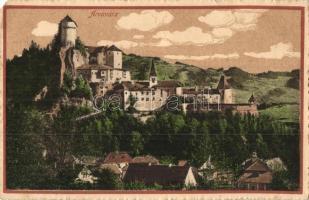 Árvavára, Oravsky Zamok; vár. Feitzinger Ede No. 870. / castle (EM)