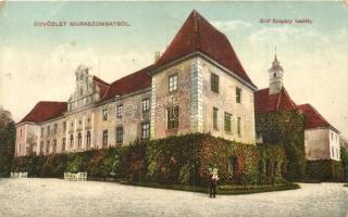 Muraszombat, Muravska Sobota; Gróf Szapáry kastély / castle