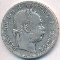 Ausztria 1890. 1Fl Ag Ferenc József T:2- Austria 1890. 1 Florin Ag Franz Joseph C:VF Krause KM#2222