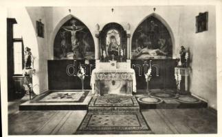 Budapest II. Hűvösvölgy, Magyar Szentföld Templom - 2 db régi képeslap / 2 pre-1945 postcards