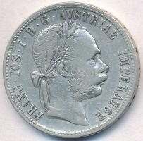 Ausztria 1892. 1Fl Ag Ferenc József T:2- Austria 1892. 1 Florin Ag Franz Joseph C:VF Krause KM#2222