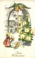 50 db VEGYES karácsonyi üdvözlő motívumlap, vegyes minőség / 50 mixed Christmas greeting motive cards, mixed quality
