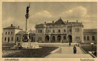 Székesfehérvár, vasútállomás