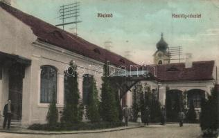 Kisjenő, Chisineu-Cris; Főhercegi lak, kastély, Rosenthal Pál kiadása / Archdukes villa, castle (EK)