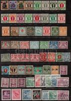 Németország - Danzig, Böhmen und Mähren Kb. 63 db képes bélyeg berakólapon