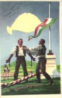 Magyar öröm magyar bánat kiadja a Ereklyés Országzászló Nagybizottsága / Hungarian Irredenta (EK)