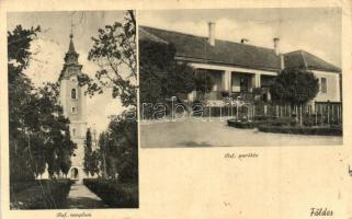 Földes, Református templom és parókia (EK)