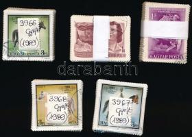 1955-1989 5 db bündli (DISZ (II.), Postamúzeum, Bábolnai ménes sor)