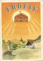 Erdélyi részek visszacsatolásának emlékére / Transylvania, irredenta propaganda s: Németh N. (EK)