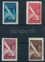 1948 Visszafoglalt területek sor Mi 493-496