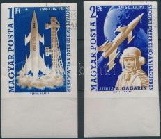 1961 Páros űrrepülés ívszéli vágott sor (12.000)