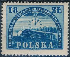 1948 Európai vasúti konferencia, Krakkó bélyeg Mi 504