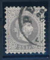 1867 25kr szürkésibolya, PEST (hibátlan) (55.000)
