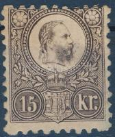 1871 Réznyomat 15kr eredeti gumival (110.000)