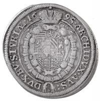 Ausztria 1695I-A 15kr Ag I. Lipót Graz (5,89g) T:2 Austria 1695I-A 15 Kreuzer Leopold I Graz (5,89g) C:XF