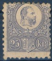 1871 Réznyomat 25kr eredeti gumival (40.000)