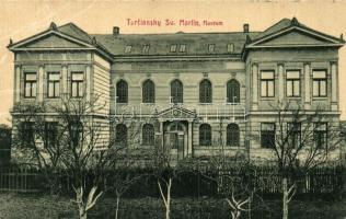 Turócszentmárton, Turciansky Svaty Martin; Múzeum, W. L. Bp. 5879 G. / museum (Rb)