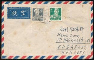 1956 Légi levél Kínából Budapestre