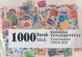 Kb. 1000 klf Tengerentúli bélyeg zacskóban ömlesztve