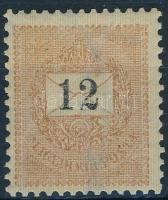 1898 12kr 12 : 11 3/4 fogazással (40.000)