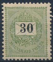 1898 30kr 12 : 11 3/4 fogazással (10.000)