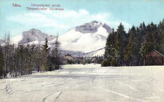 Tátraszéplak, Sírét, kiadja Cattarino S. utóda Földes Samu / ski field