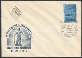 1955 Alumínium FDC (4.500)