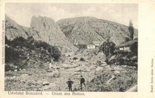 Boica, Kisbánya, Baita; Heinrich tárna, bánya, Deutsch felvétele, Balás Artur kiadása / mine (EK)