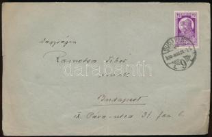 1930 Helyi levél Szent Imre 16(+4)f bérmentesítéssel