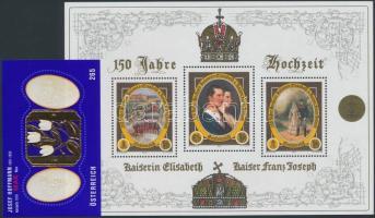 2004+2007 Császári esküvő blokk + Josef Hoffmann blokk Mi 23, 40