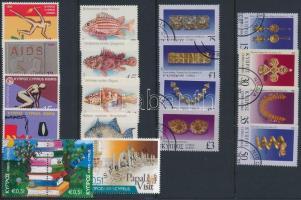1995-2010 19 klf bélyeg, közte 3 MINTA + 1 bélyegfüzet magas névértékkel