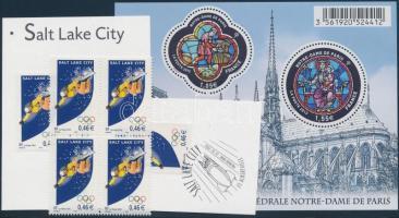 2002-2013 6 db Olimpia bélyeg + 1 blokk (névért.: 5,36EUR)