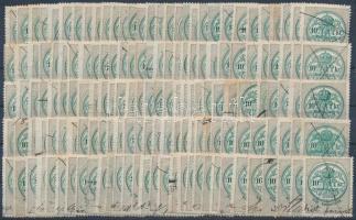 150 db 10kr okmánybélyeg hagyatékból