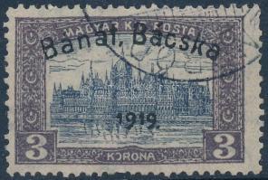 Bánát-Bácska 1919 Parlament 3K, garancia nélkül (20.000)