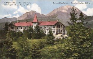 Tátraszéplak, Tatranska Polianka; szálloda, Ferenc József-csúcs / hotel, peak