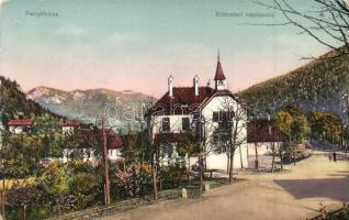 Fenyőháza, Lubochna; Kincstéri népiskola / school (kopott sarkak / worn corners)