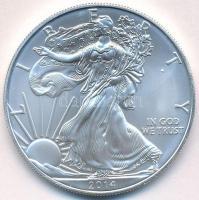 Amerikai Egyesült Államok 2014. 1$ Ag Walking Liberty T:BU USA 2014. 1 Dollar Ag Walking Liberty C:BU